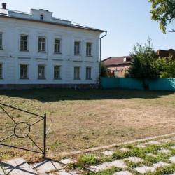 Площадка до постройки Летописного сквера