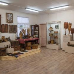 Помещение музея в здании мастерской народных ремесел после ремонта и размещения новой экспозиции.4