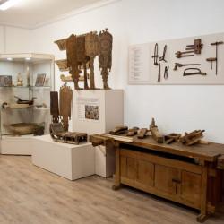 Помещение музея в здании мастерской народных ремесел после ремонта и размещения новой экспозиции.3