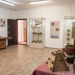 Помещение музея в здании мастерской народных ремесел после ремонта и размещения новой экспозиции.2